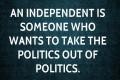 Duşul rece al românului cu independenţii în politică?