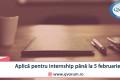 Oportunitate de internship Editor Imagine/Video!