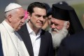 Papa Francisc – întâlnire cu imigranții din insula Lesbos