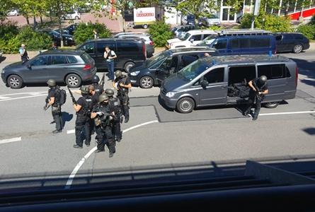 Germania/ Luare de ostatici lângă Frankfurt într-un posibil act terorist