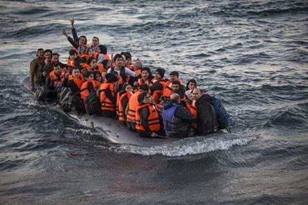 Inf. 163 - Lesbos migratie