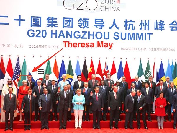 Inf. 175 - Theresa May G20