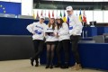Young Spirits for Humanity faţă în faţă cu valoriile şi principiile Uniunii Europene. Strasbourg, 16 decembrie 2016