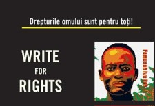 Amnesty International Bucharest Group/ Campania Write For Rights 2016 în România