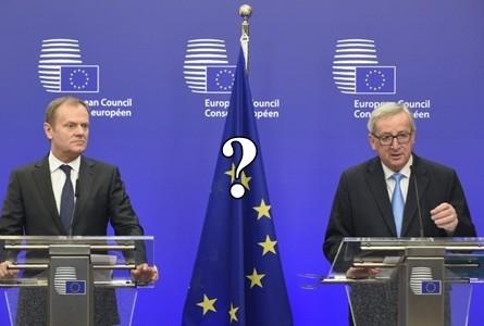 Tusk Juncker Trump