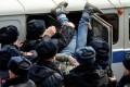 VIDEO. Proteste masive în Rusia împotriva conducerii statului, autorităţile reacţionează cu sute de arestări