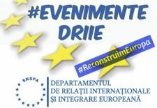 #ReconstruimEuropa/ Dezbateri europene în luna mai la SNSPA