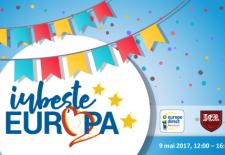 """Ziua Europei, în Piaţa Universităţii/ """"Iubește Europa! – Fall in love with Europe!"""""""