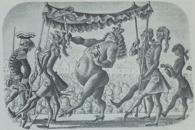 """Desen autor anonim - Hans Christian ANDERSEN, """"Hainele cele noi ale împăratului"""""""