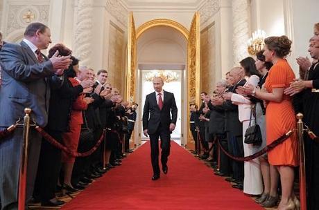 Inauguration of Vladimir Putin as President of Russia.