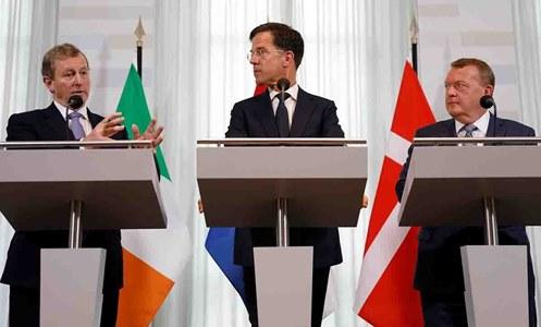 Inf. 591 - Rutte Olanda Irlanda Danemarca