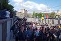 """Revoluţia armeană intră în a cincea zi/ Protestele din Armenia continuă împotriva schemei """"Putin-Medvedev"""" utilizată de preşedintele Sarksian"""