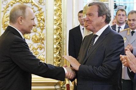Inf. 603 - Putin Schroeder