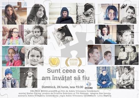 Poster documentar SUNT CEEA CE AM INVATAT SA FIU