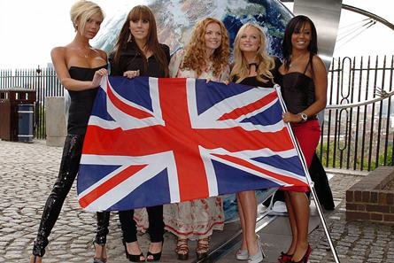 Inf. 631 - Britanie steag drapel UE Brexit Spice Girls