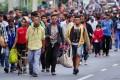 Caravană de migranți spre S.U.A