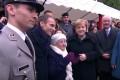 VIDEO. Angela Merkel, confundată de o vârstnică de 101 ani din Franţa cu soţia preşedintelui Emmanuel Macron