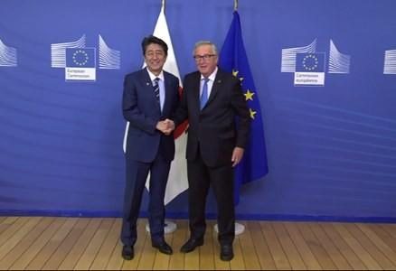 Acordul de liber schimb între UE şi Japonia va intra în vigoare din februarie