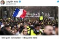 """Di Maio şi Salvini încurajează """"vestele galbene"""" din Franţa: """"O nouă Europă se naşte"""""""
