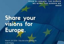 """""""Europa pe care o vrem – Europa de care avem nevoie""""/ Completează chestionarul, participă la dezbatere!"""