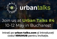 Urban Talks vine la București pe 10-12 mai!