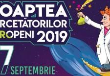 Noaptea Cercetătorilor Europeni 2019 la SNSPA