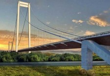 Au fost aprobaţi banii europeni pentru podul gigant peste Dunăre de la Brăila