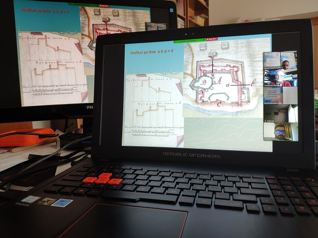 """Aspect din cadrul workshop-ului online """"Arheologia otomană în Dobrogea"""""""