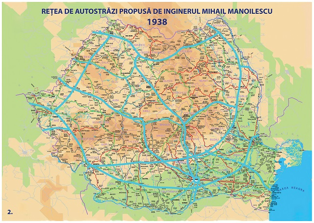 Proiect autostrazi romania